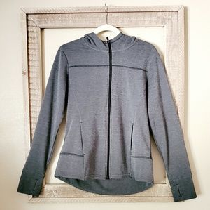 Grey Full Zip Jacket